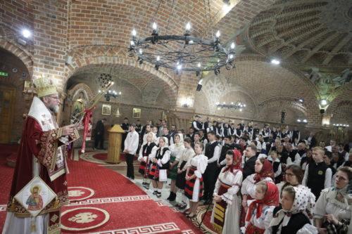 Sobor de arhierei a liturghisit la onomastica Preasfinţitului Părinte Episcop Iustin