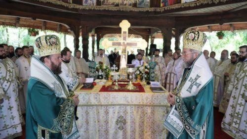 Hramul Mănăstirii maramureșene Scărişoara Nouă