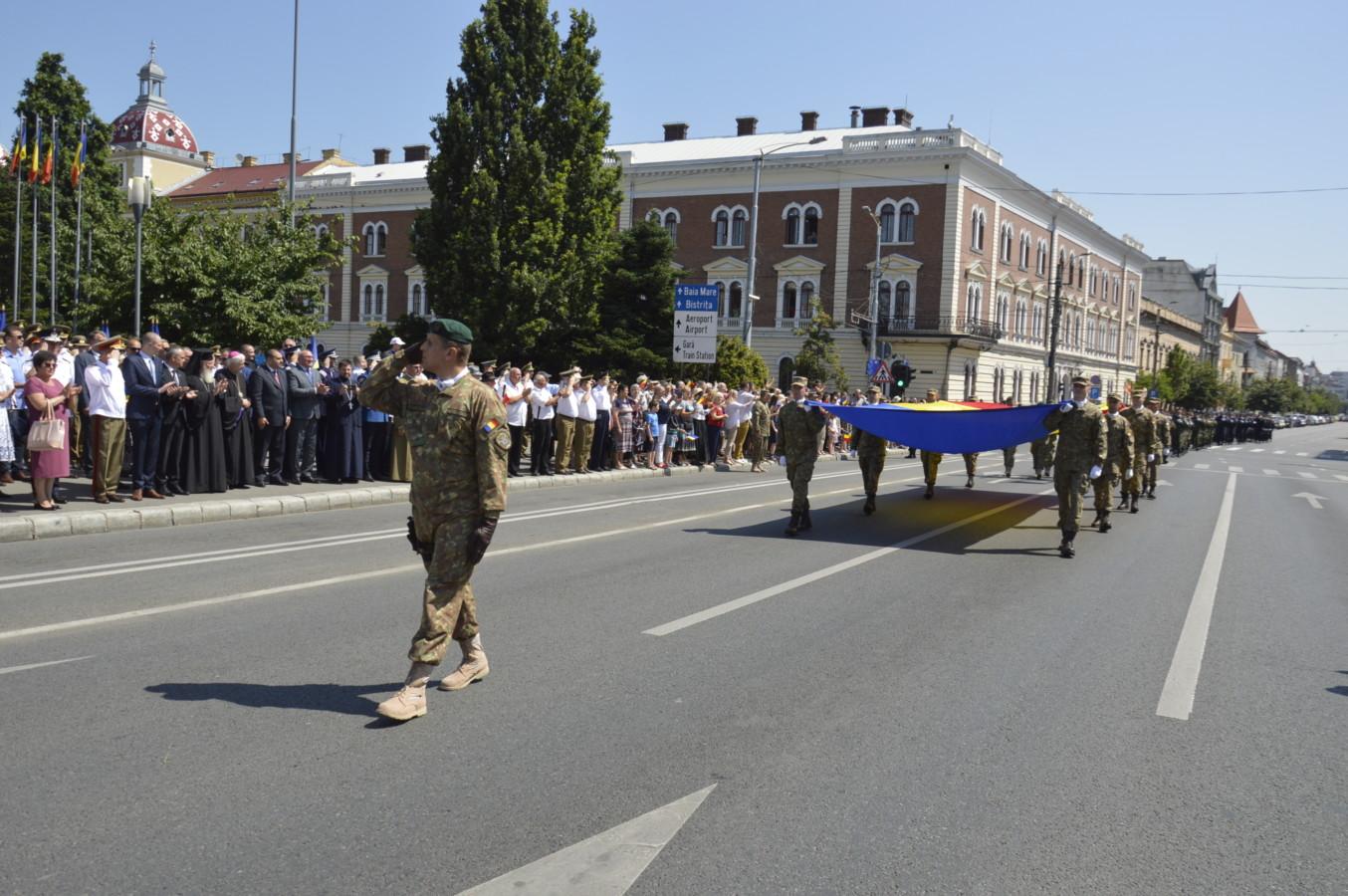 Ziua Drapelului Național, sărbătorită la Cluj-Napoca