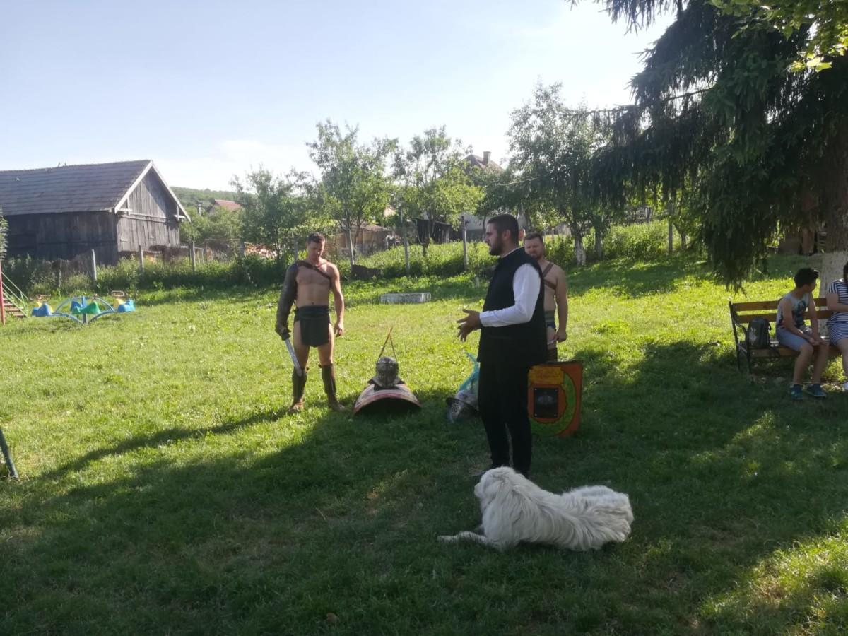 Istoria prinde viață, la Ghirișu Român