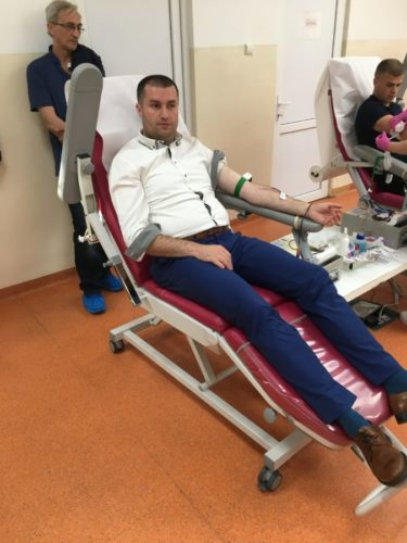 O nouă campanie de donare de sânge, în parohia clujeană Vâlcele