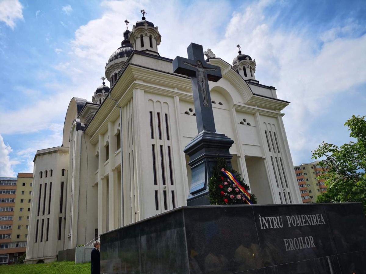Înălțărea Domnului în Parohia Sf. Apostoli Petru și Pavel, cartierul clujean Mănăștur