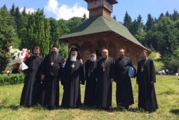 Părintele Mitropolit Andrei, la hramul Mănăstirii Telcișior-Buscatu