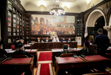 Întâlnirea Comisiei de Statut şi regulamente a Sfântului Sinod