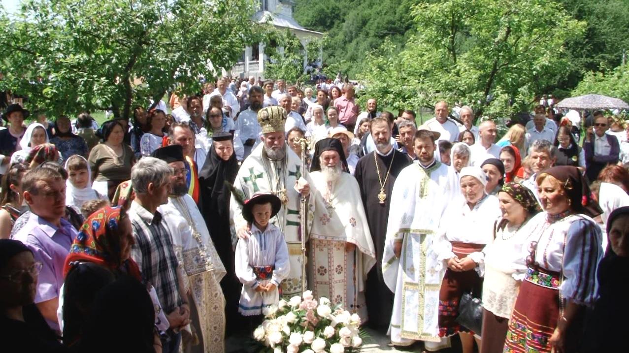 """Hramul Mănăstirii """"Sfânta Treime"""" din Suciu de Sus, Maramureș"""