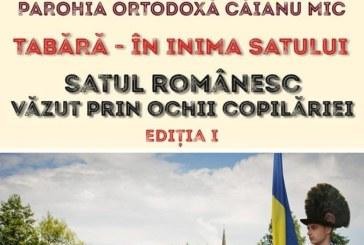 <span style='color:#B00000  ;font-size:14px;'> </span> <br> Satul românesc, văzut prin ochii copilăriei</p>