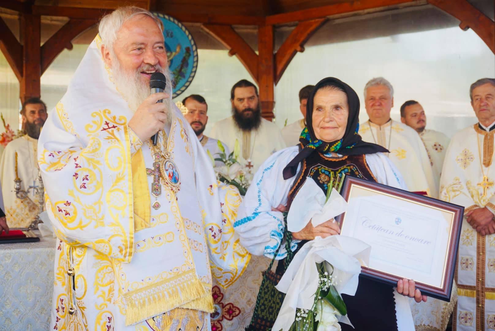 Biserica parohiei bistrițene Agrieș, resfințită de Mitropolitul Clujului