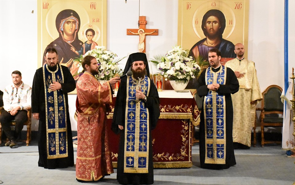 """Arhim Benedict Vesa, pelerinilor de la Nicula: """"Să învățăm de la Maica Domnului că dragostea adevărată  înseamnă jertfă"""""""