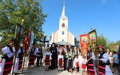 Târnosirea bisericii din Micula Nouă, Episcopia Maramureșului și Sătmarului