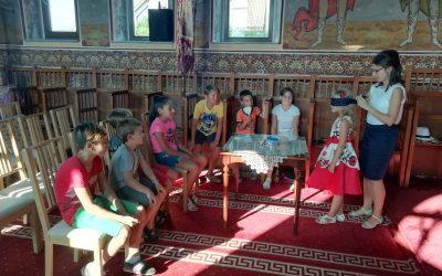 Ateliere de creație, pentru copiii din parohia Hășdate