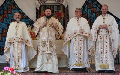 Resfințirea bisericii din Parohia Aluniș