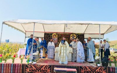 """Sărbătoare la singura Parohie din Arhiepiscopia Clujului cu hramul """"Brâul Maicii Domnului"""""""