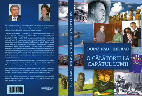 """Simona Vlasa în dialog cu profesorii Doina și Ilie Rad, despre cartea """"O calatorie la capatul lumii"""""""