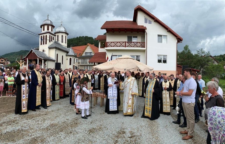 O nouă biserică în orașul-stațiune Sîngeorz-Băi