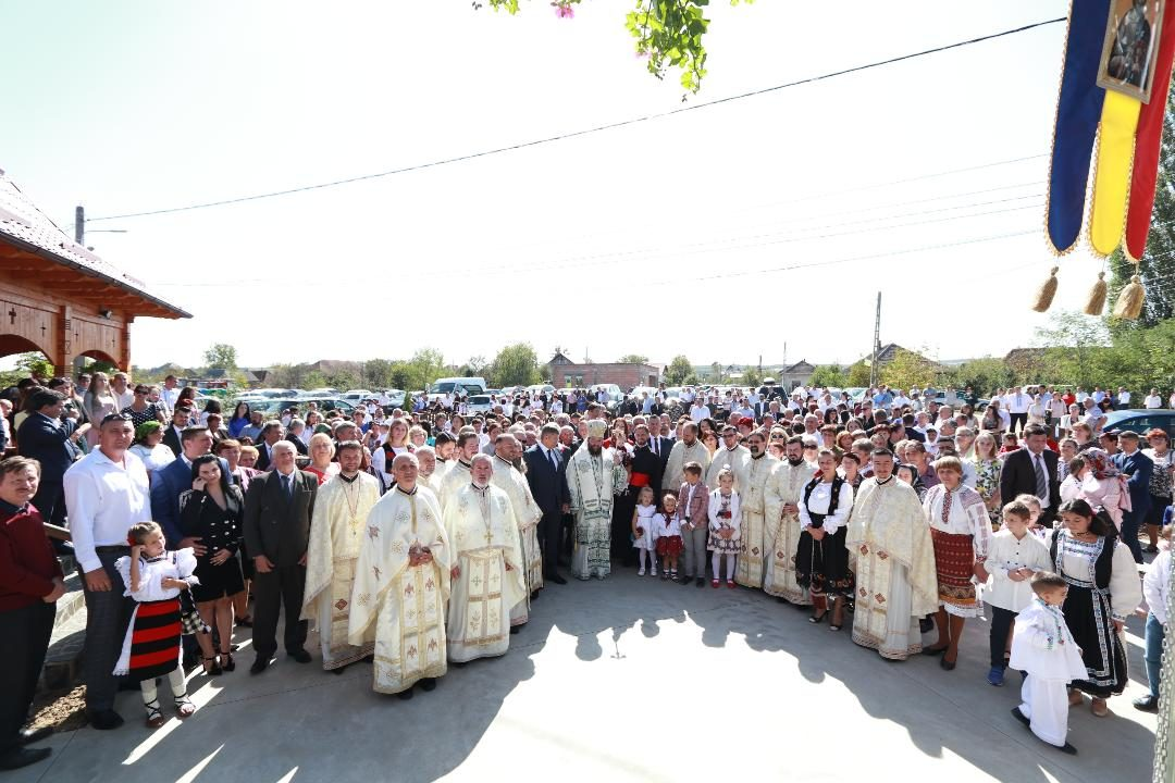 Resfinţirea bisericii din Moara Borşii