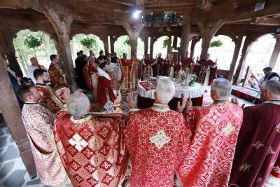 Hramul mic al Mănăstirii Săpânţa