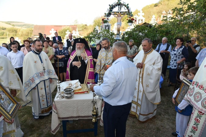 Resfințirea Bisericii din Mureșenii de Câmpie, jud. Cluj