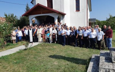 Instalarea noului preot în Parohia Sâncraiu, Protopopiatul Huedin