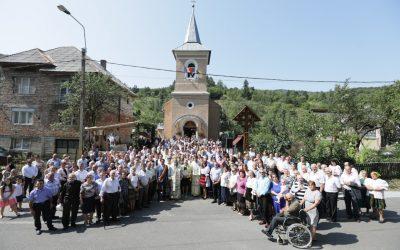 Târnosirea bisericii din Blidari