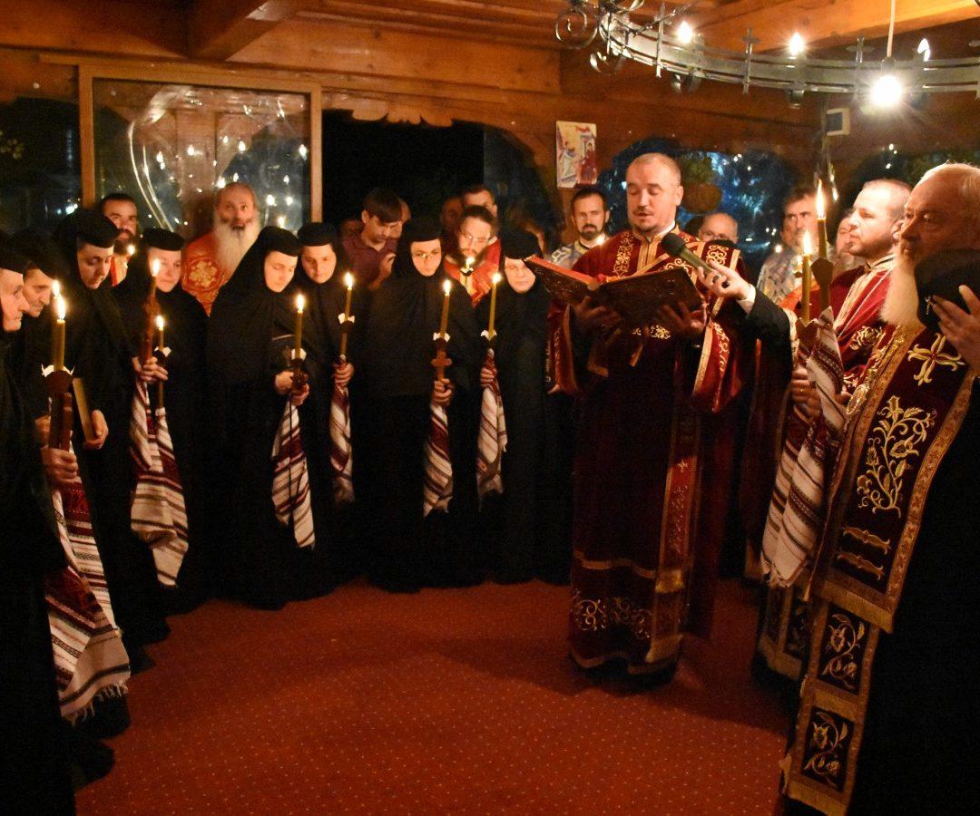 Tunderea în monahism a șase maici de la Mănăstirea Cășiel