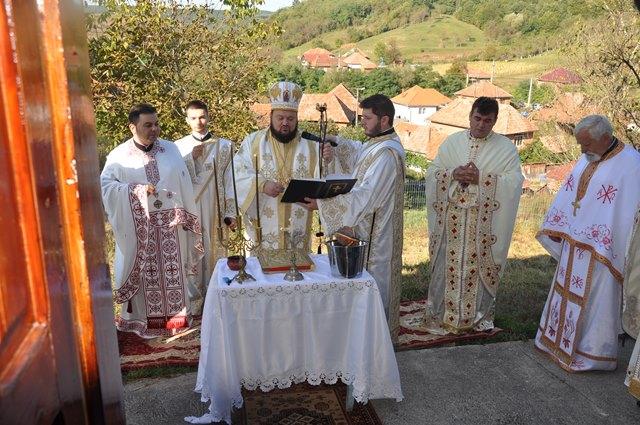 Resfințirea bisericii din Parohia Bercea, Episcopia Sălajului