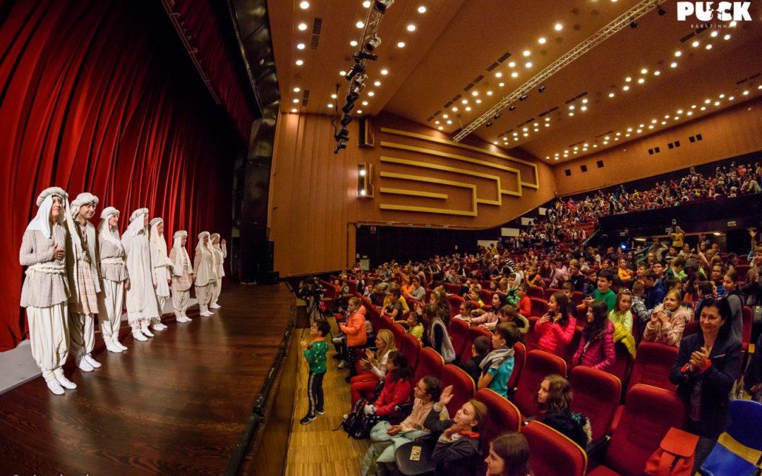 """Aproape 6.000 de spectatori, la Festivalul Internațional """"Puck"""""""