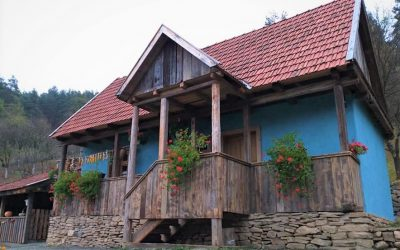 Mitropolitul Andrei a sfințit casă tradițională românească din Parohia Someșu Rece