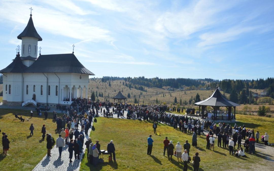 Sfânta Cuvioasă Parascheva, cinstită la Mănăstirea clujeană Râșca Transilvană