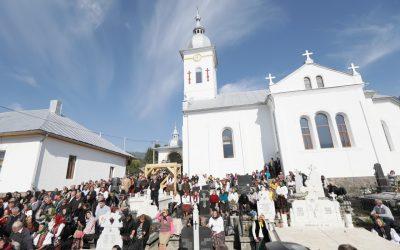 Târnosirea bisericii Parohiei  Borşa 1, Maramureș
