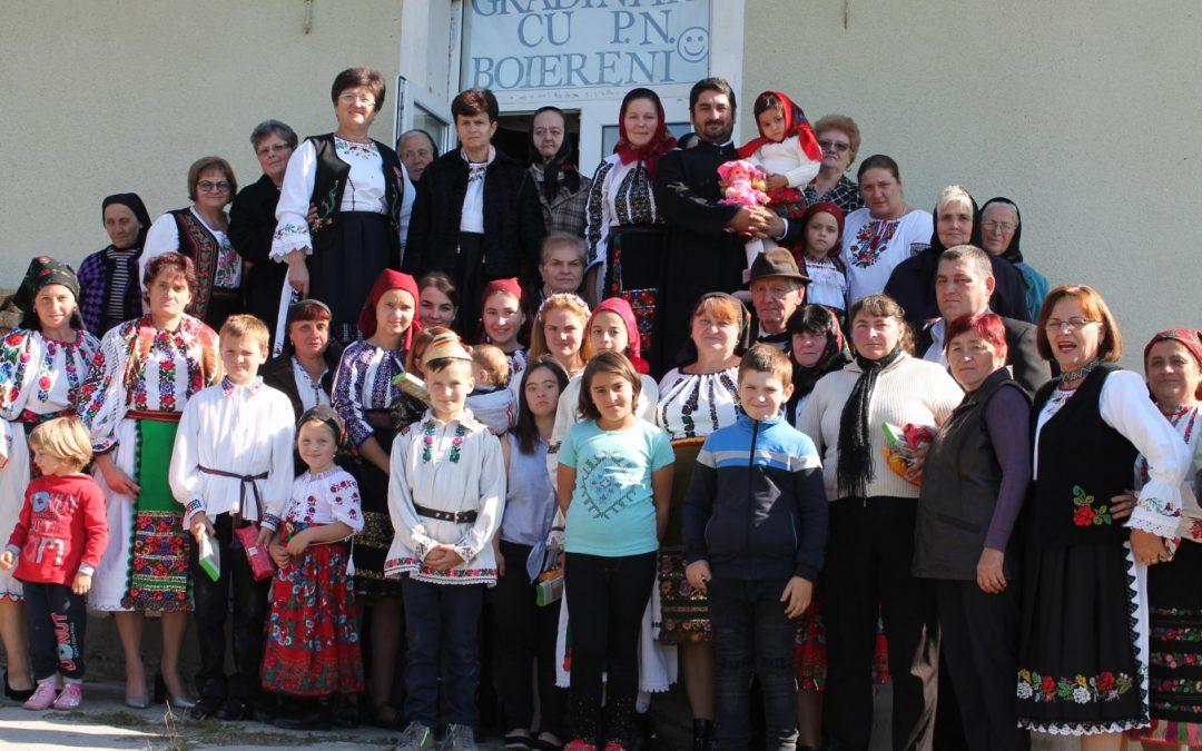 Cinstirea preoţilor şi învăţătorilor satului la Boiereni, în Ţara Lăpuşului