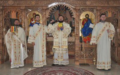 Liturghie arhierească, în parohia sălăjeană Recea