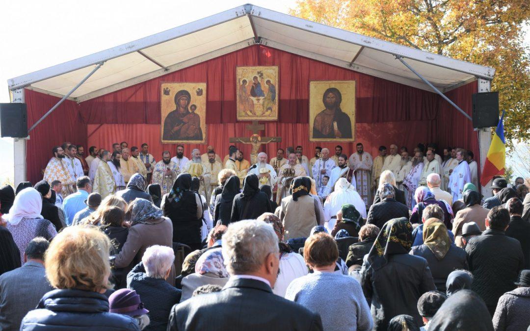 """Hramul Mănăstirii """"Petru Rareș Vodă"""" din localitatea bistrițeană Ciceu-Corabia"""