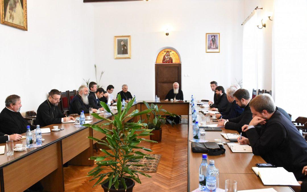 Ședința semestrială cu protopopii și membrii Departamentului Misionar, la Centrul Eparhial din Cluj-Napoca
