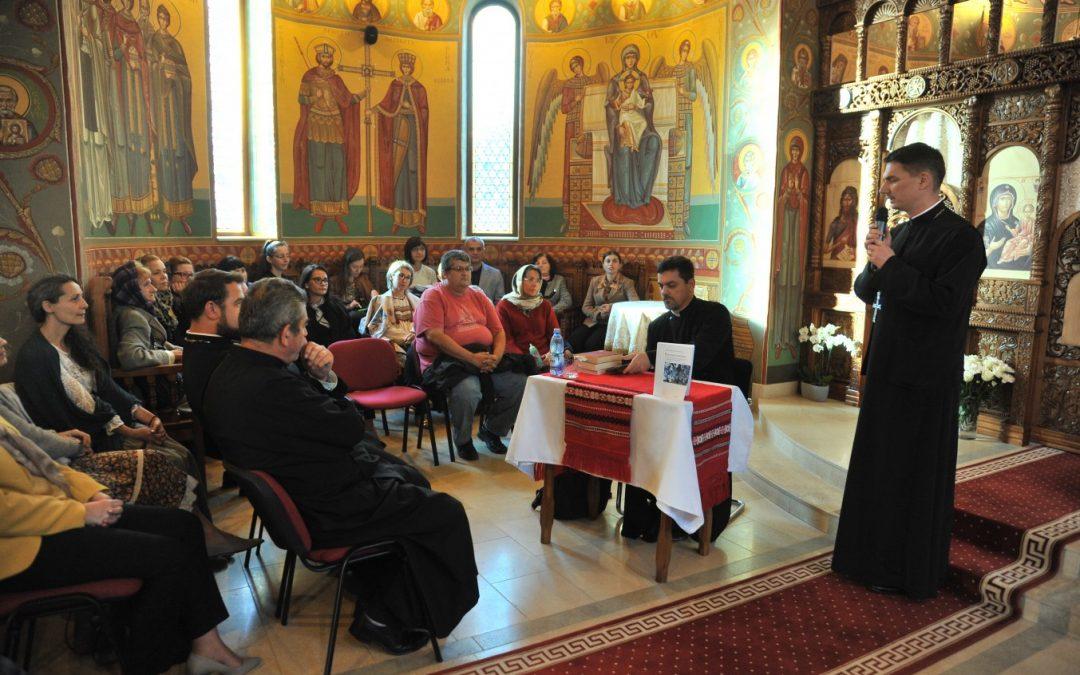 Arhid. Sorin Mihalache a conferențiat în Parohia Baciu II