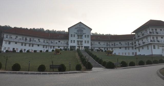 """Târnosirea capelei Centrului de Servicii Sociale """"Sfântul Gheorghe"""" din Românași"""