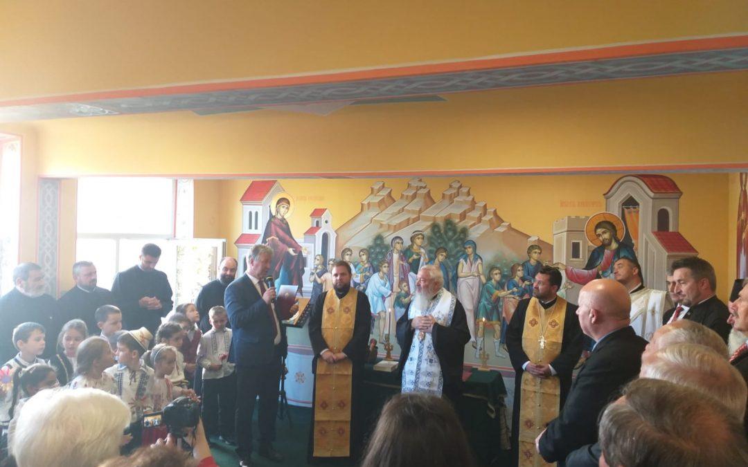 Sfințire de capelă școlară la Huedin