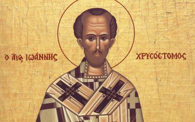 De ce îl sărbătorim în 13 noiembrie pe Sf. Ioan Gură de Aur?