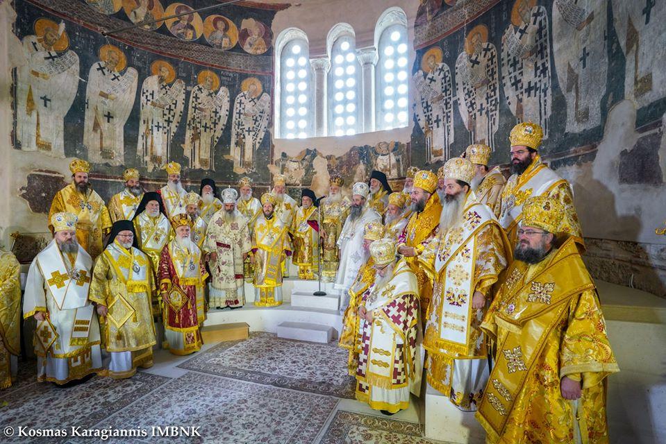 Înaltpreasfințitul Părinte Andrei a slujit la Catedrala veche din Veria, Grecia