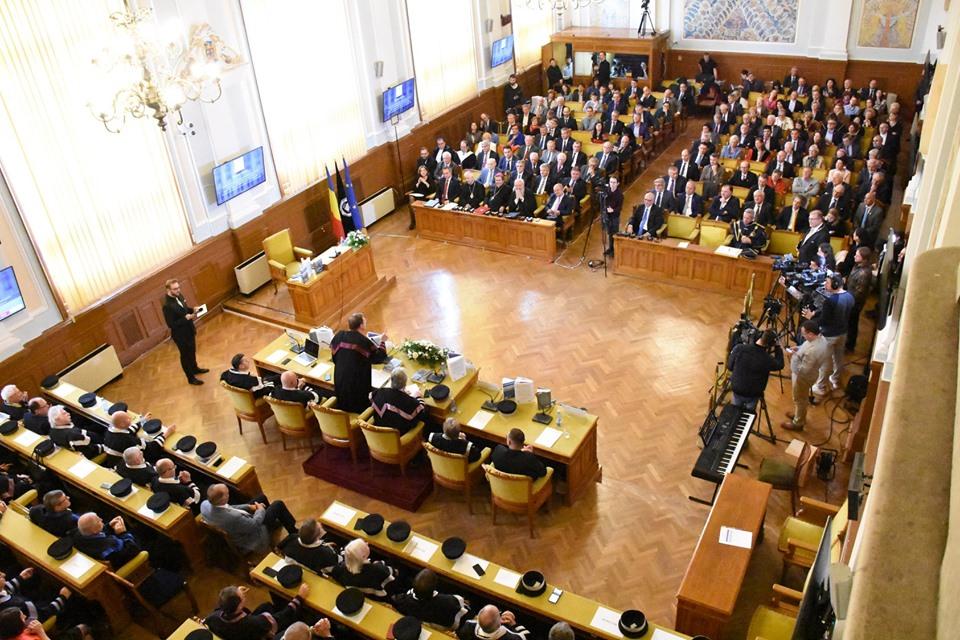 Gala Centenar UBB: un secol de la înființarea Universității românești la Cluj