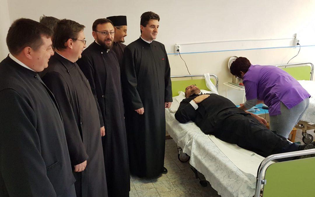 Campanie de donare de sânge, în Episcopia Sălajului