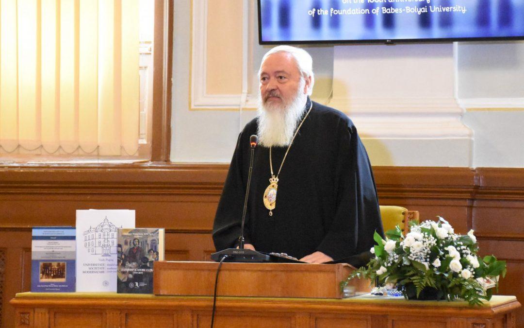 Discursul Mitropolitului Andrei la împlinirea unui secol de la înființarea Universității românești la Cluj