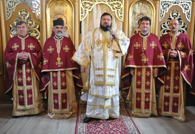 Biserica parohiei sălăjene Trestia, resfințită de Preasfințitul Petroniu