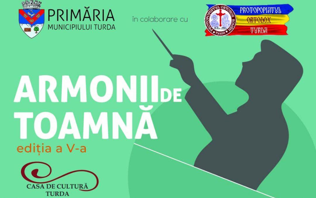 """Concert coral """"Armonii de toamnă"""", la Turda"""