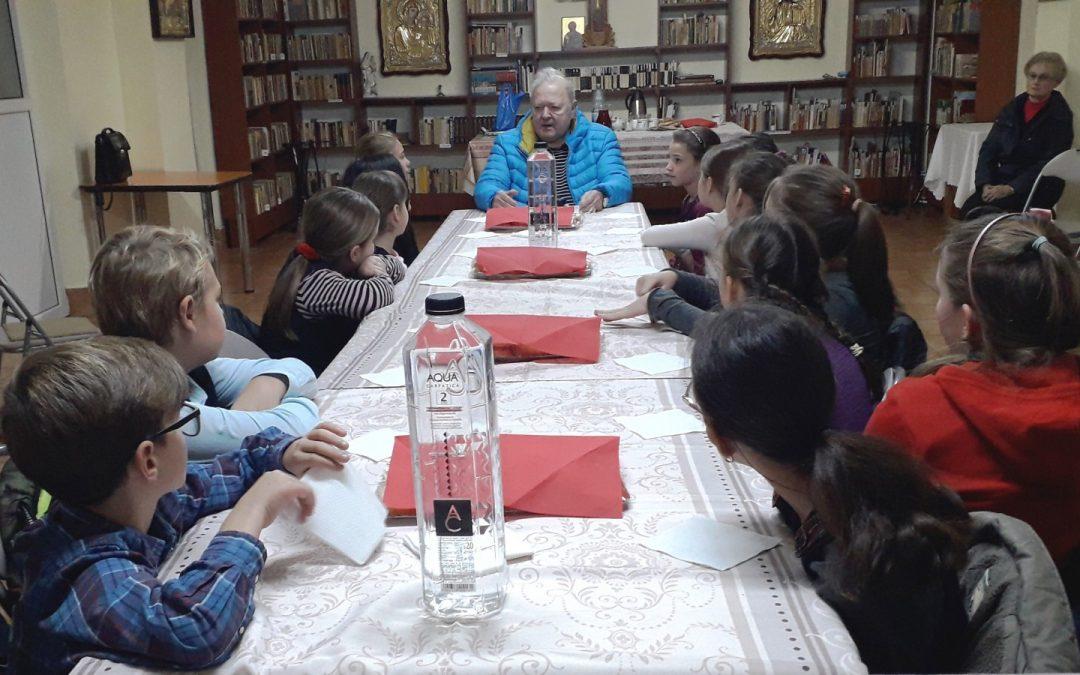 """Îndemn la prietenie și rugăciune pentru elevii Școlii ,,Constantin Brâncuși"""", la început de post"""