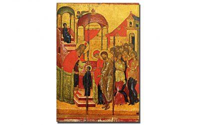 Intrarea în Biserică a Maicii Domnului în iconografia răsăritenă