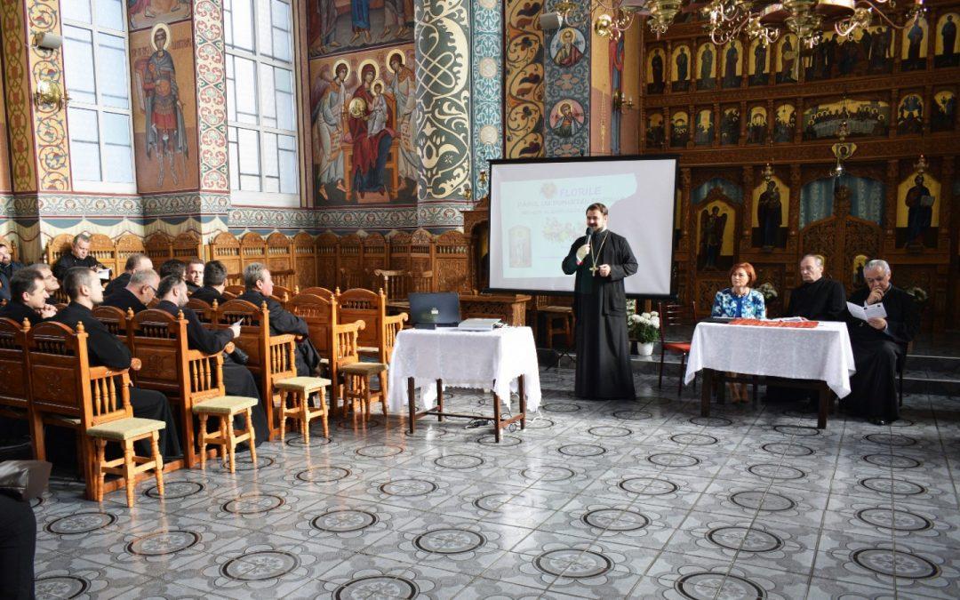 Părintele Nicolae Buda, felicitat de preoții din Cluj cu ocazia pensionării