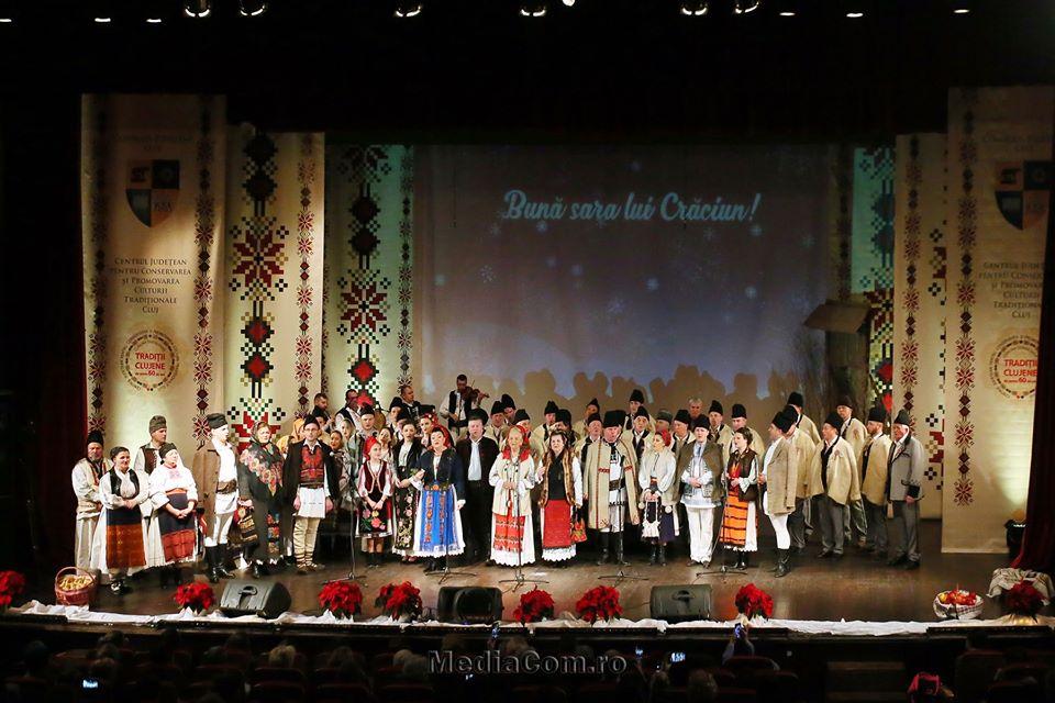 """Concertul de colinde """"Bună sara lui Crăciun"""", apreciat de publicul clujean"""