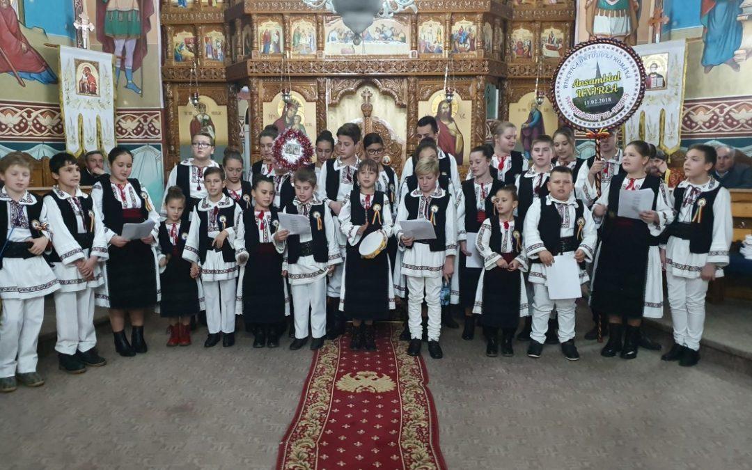 Concert de colinde în Parohia Vermeș