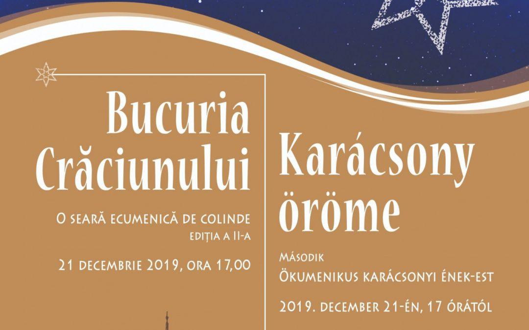 """Festivalul ecumenic de colinde """"Bucuria Crăciunului"""", la Florești"""