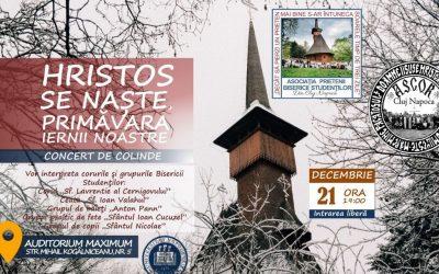 """Concertul de colinde """"Hristos se naște – Primăvara iernii noastre"""""""